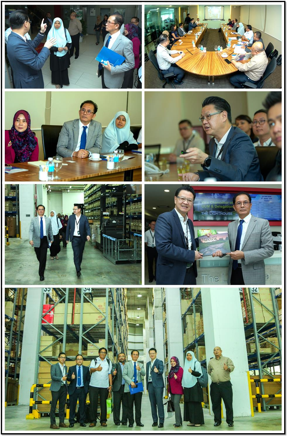 UUM CONTINUES TO CONSOLIDATE ITS RELATION WITH PKT LOGISTICS GROUP SDN